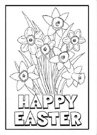 ☛ (New) 8 Asst. Easter Coloring Sheets ☚