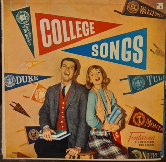 Your choice of 1 Vinyl Record! College Songs, Gigi, Germany, Dover, Candide, Camelot, Burl Ives