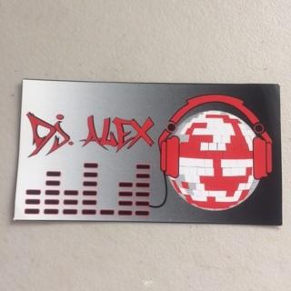 Sticker Dj Alex