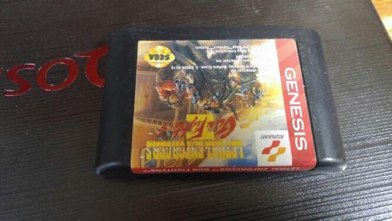 Lethal Enforcers and Ms Pac Man Sega Genesis