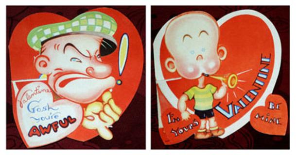 Free Vintage Popeye and Nephew Valentine Cards Other – Nephew Valentine Cards