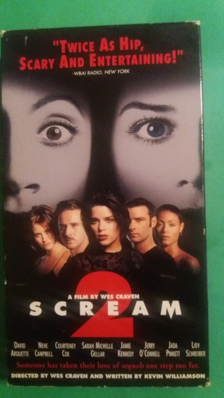 vhs scream 2 free shipping
