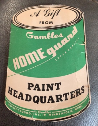 Gambles Paint Headquarters Adverting sewing kit Home Guard Minneapolis MN