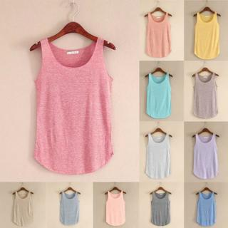 Lady Women Fashion Summer Sleeveless Blouse T-Shirt Vest Casual Loose Tank Tops