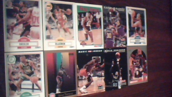 NBA cards for bid
