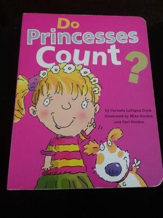 Do princesses count? Book