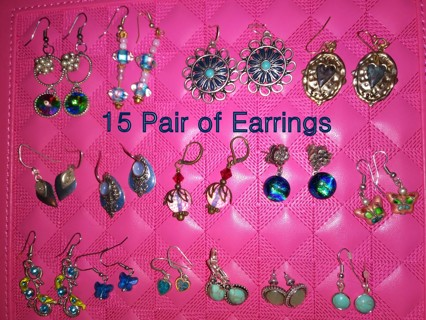 Cure The Blues With These 15 Pair of Amazing Hanging Earrings