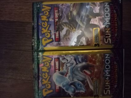 Pokemon cards two 3packs
