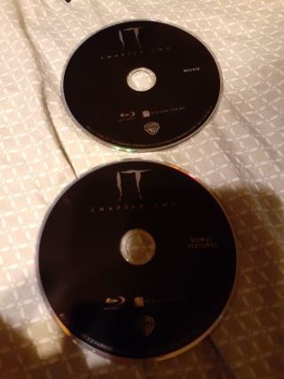 It chapter two bluray discs movie and bonus features