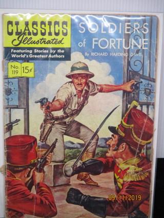 CLASSICS Illustrated #119