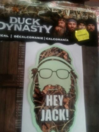 Duck Dynasty Auto Decals lot of 3