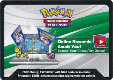 Pokemon OTCG card codes (9 Dragon Majesty)