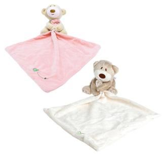 Teddy Bear Baby Kids Comforter Plush Stuffed Washable Blanket Soft Smooth Toy