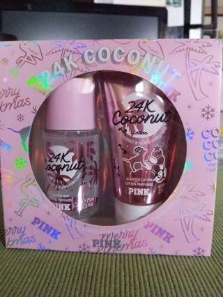 Victoria's Secret Pink, 24K coconut gift set