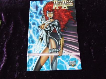 1995 Maxi Mage Issue #1 Image Mature Comics