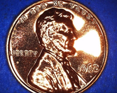 1962 doubling proof lincoln cent