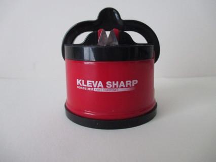 KLEVA SHARP red knife sharpener