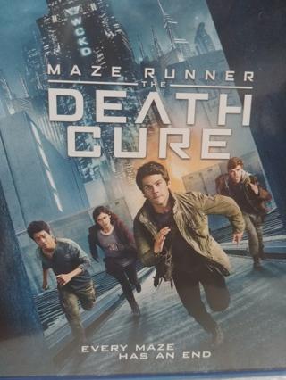 MAZE RUNNER ( the DEATH CURE ) 2018 RELEASE ::: DIGITAL CODE:::