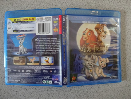 Disney's Lady and the Tramp Blu-Ray/DVD Set