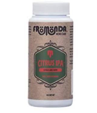 Fromonda Body Powder (Citrus IPA) Unisex (1.4 oz. 1-Pack) Talc-Free, Anti- Chafing, Sweat Defense