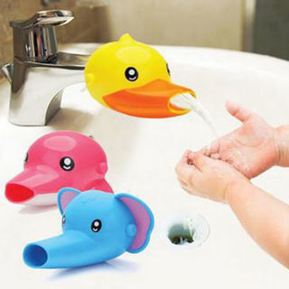 Faucet Extender Sink Handle Extension Toddler Kid Bathroom Children Hand Wash