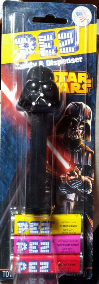 Star Wars Darth Vader PEZ dispenser Stocking stuffer! NIP