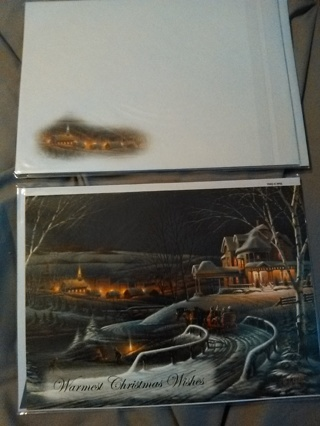 Christmas Card with Envelope!  NEW!!