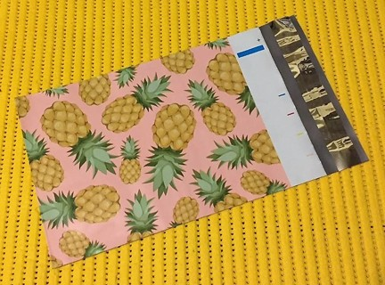 "5 PINEAPPLE 6"" x 9"" Poly Mailers"