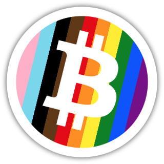 Collectible NFT Badge: I ❤️ BTC #7 of 10