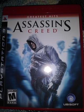 5 PS3 GAMES ASSASSINS CREED