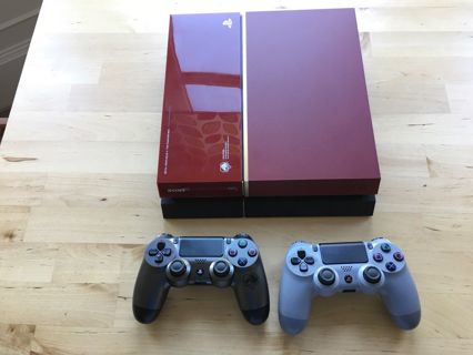 Free: Limited Edition PS4 Console Metal Gear Solid - 1TB