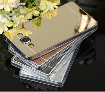 Top Quality Mirror Protector Cover Case For Samsung S6 S7 Edge A7 J3 J5 J7 2016 Grand Prime G530 N