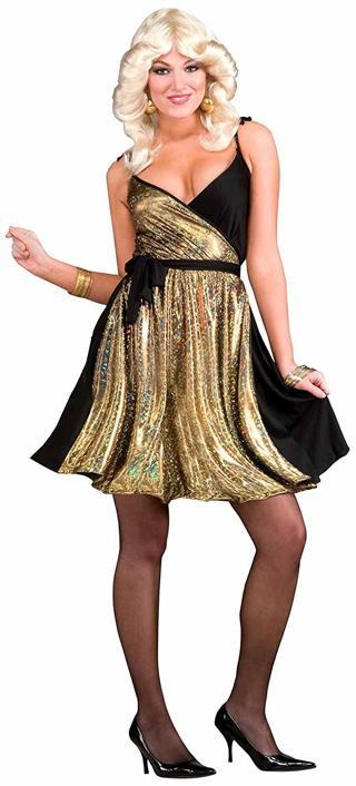 Forum Novelties Women's 70's Disco Fever Dress