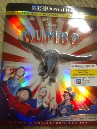 Dumbo 4K Ultra HD and Blu-ray