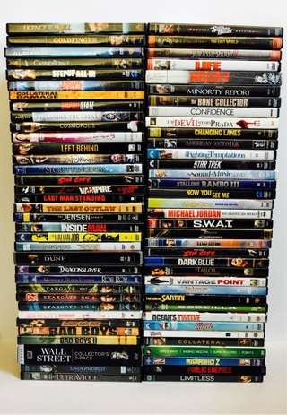★‼️Lot of 68 DVD Movies ~ WINNER TAKES ALL‼️★
