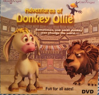 The Adventures of Donkey Ollie--Christian Animation - Kid's Movie DVD