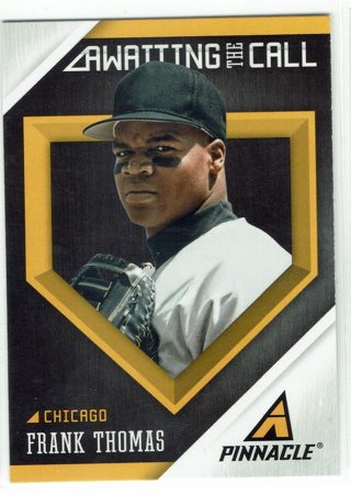 Frank Thomas Awaiting The Call Insert Chicago White Sox 2013 Pinnacle