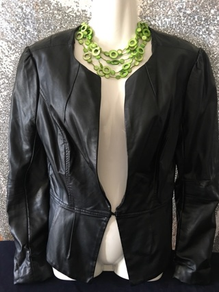 Elle Leather Top Small