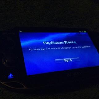 PS Vita Opened But Unused