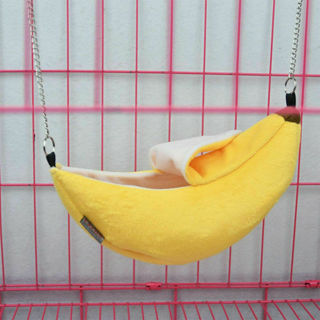 Pet Bird Hamster Ferret Rat Squirrel Hammock Hanging Cage House Toys Bed