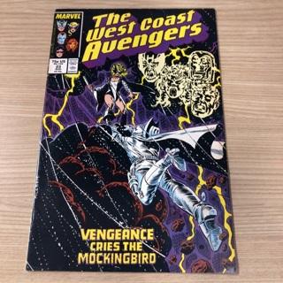 The west coast avengers   Marvel comics