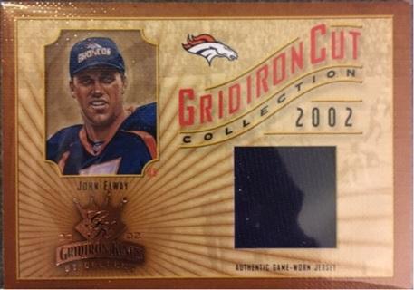 John Elway Gridiron Cut Collection Canvas Jersey /400 Broncos