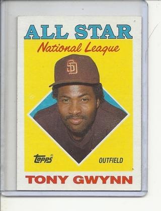 (B-3) 1988 Topps #402: Tony Gwynn - NL All-Star