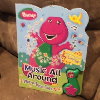 Barney Music All Around sound book