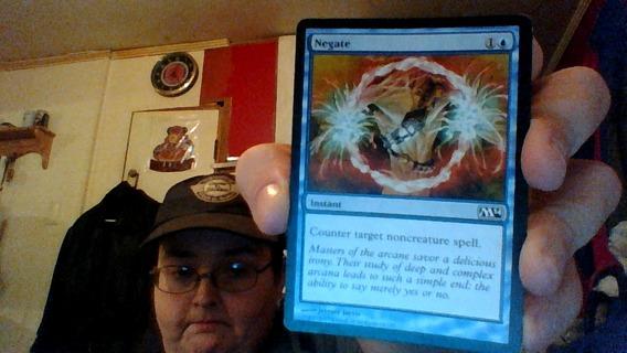 MAGIC CARD ( Negate Card)