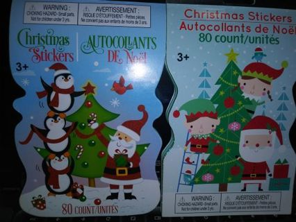 Christmas sticker books 10 sheets Lowest gins No refunds! No lower selling out deals! No scammers