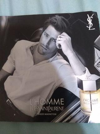 L'HOMME Yves St. Laurent Sheer Magnetism Men's sample
