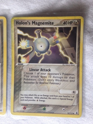 4 Metal Pokemon TCG