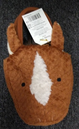 New Goody Bag/Purse Horse North American Bear Co.