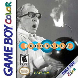 Trouballs Gameboy Color Game